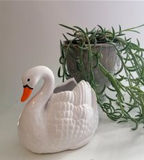ceramic swan