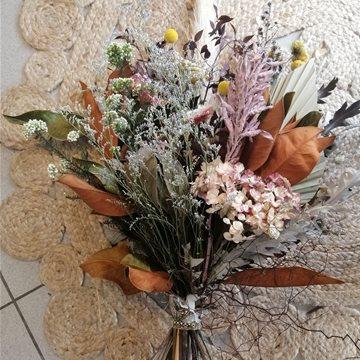 fleurs sechees - dried flowers