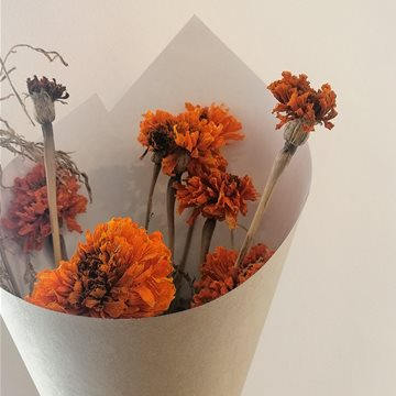 marigolds - dried