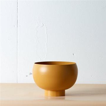 theodore mustard bowl planter