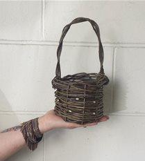 handmade petite basket