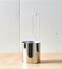 silver planter / vase
