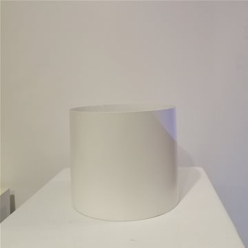 matte white planter / vase
