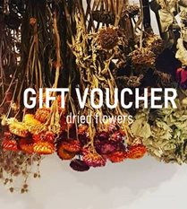gift voucher - dried flowers