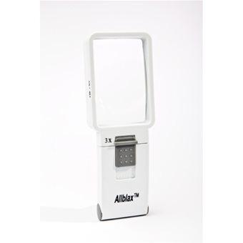 Allblax Rectangular LED Magnifier 3x