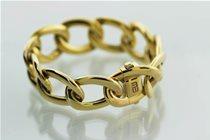 Oval Twist Bracelet