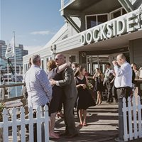 Welcome to Dockside for wedding ceremony and reception!