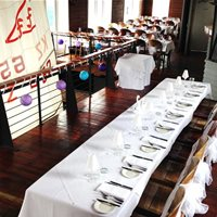 Upstairs restaurant wedding reception. Up to 60 persons.