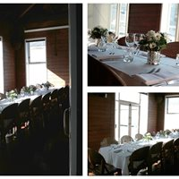 Small and intimate! Wedding reception in our private dining room. Up to 18 persons.