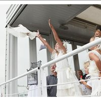 Kids releasing of doves to finish the ceremony! Like something out of a dream. :)