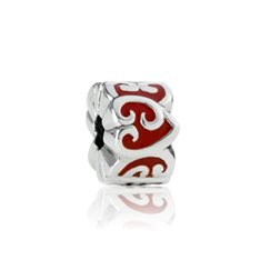 Eternity Koru Heart Clip