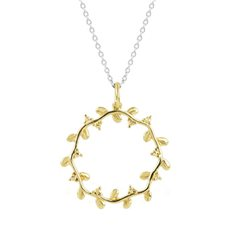 Eternity Vine Necklace (Strength) Gold/Silver