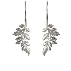Treasured Fern Drop Earrings
