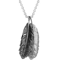 Huia Feather Duo Necklace