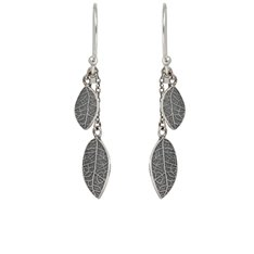 Love Leaf Drop Earrings