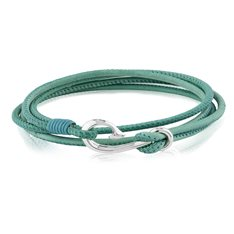 Safe Travel Wrap Bracelet Teal