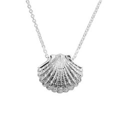 Ocean Scallop Necklace (Direction)