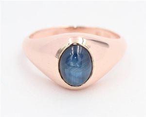 Cabocon natural sapphire