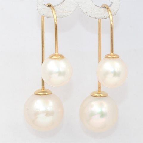 Double pearl hook