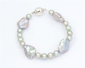 Pastel green pearl