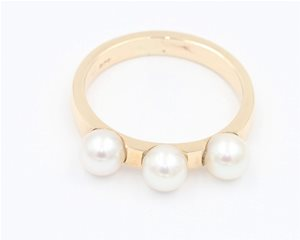 Three pearl band