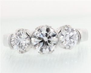 Three diamond ring