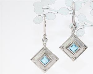 Square aquamarines