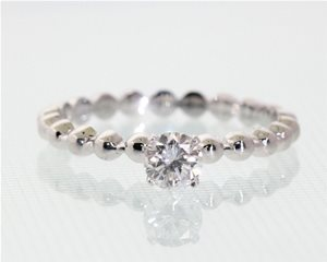 Diamond ball ring