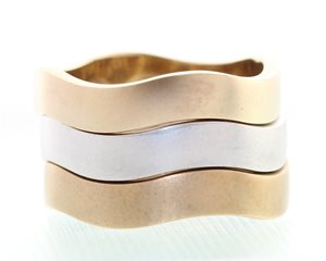 Wave rings Medium