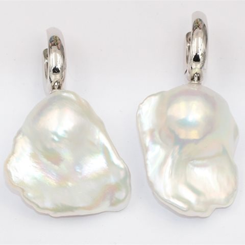 Extra large baroque pearls