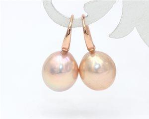 Peach drop pearls