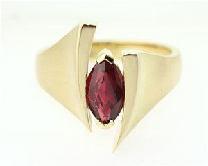 Marquise ruby