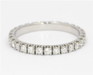 All round diamond band
