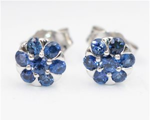All sapphire cluster