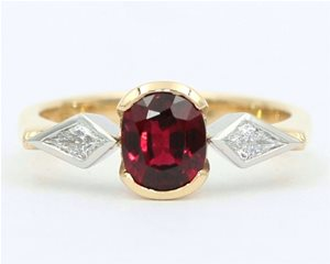 Red spinel