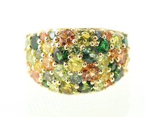 Autumn Dome ring
