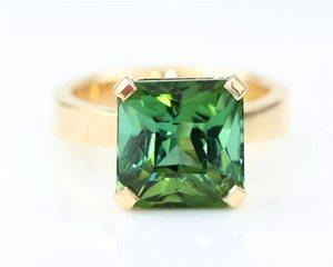 Radiant green tourmaline