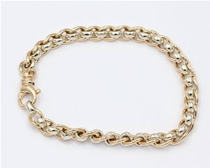 Rollercurb bracelet