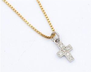 Mini Diamond cross