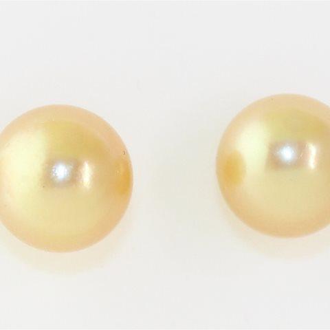 Yellow South Sea earrings