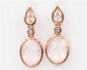 rose quartz drop